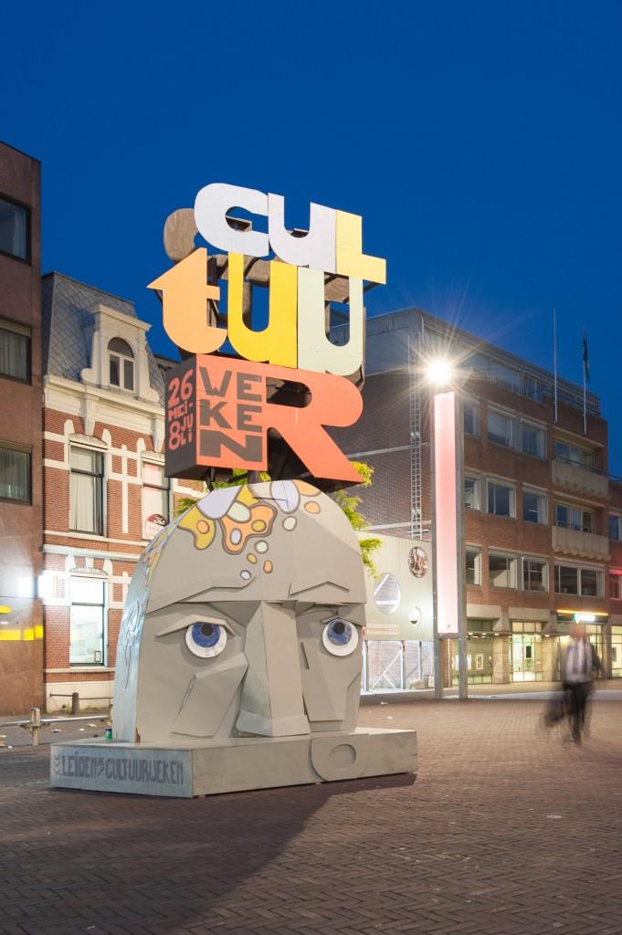 promotie sculptuur voor Leidse cultuurweken