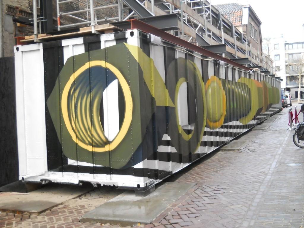 dazzle paint meets tromp d oeil - Merijn Tinga