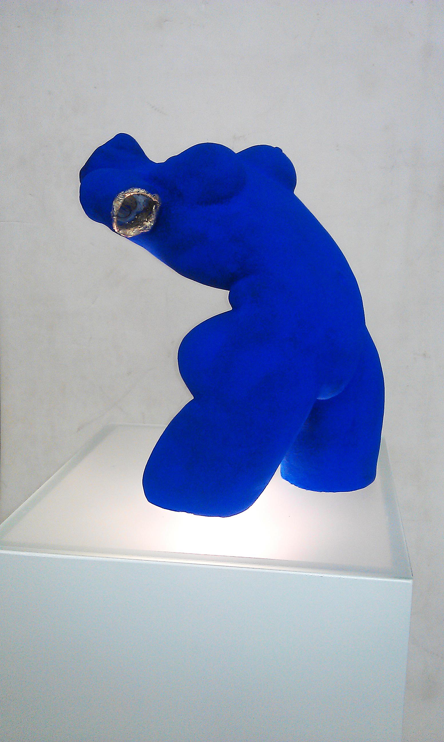 de vrouw van Lot - lapis lazuli